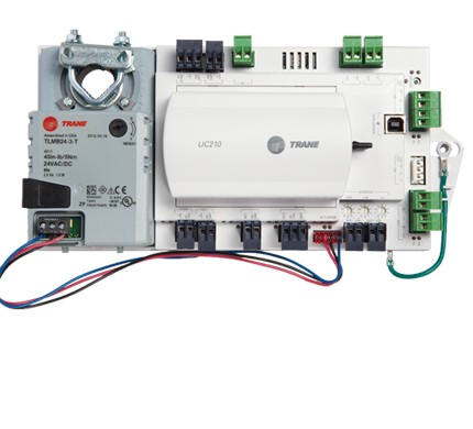 tracer™ variable air volume controllers trane ireland  uc400 trane wiring diagram #8
